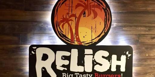 Relish Big Tasty Burger