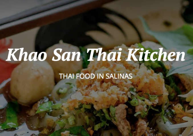 Kao San Thai Kitchen
