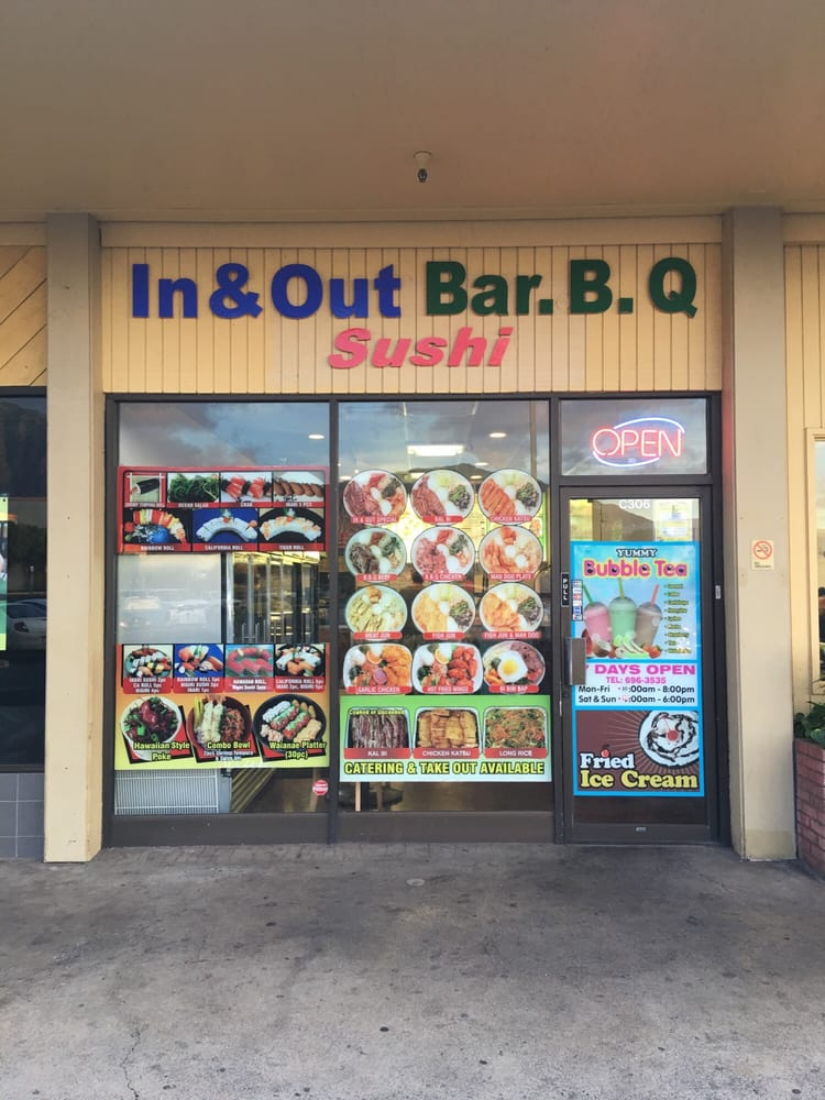 In & Out BBQ & Sushi Waianae