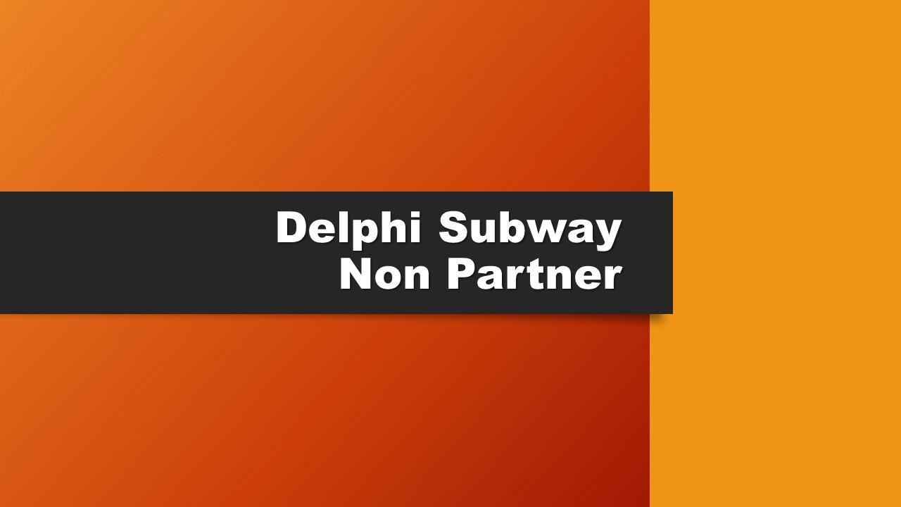 Subway - Delphi