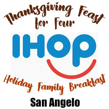 IHOP Pre-Order Holiday Meals-San Angelo