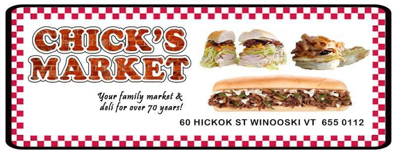 NEW: Chick's Market!
