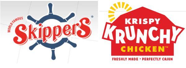 Skippers and Krispy Krunchy Chicken