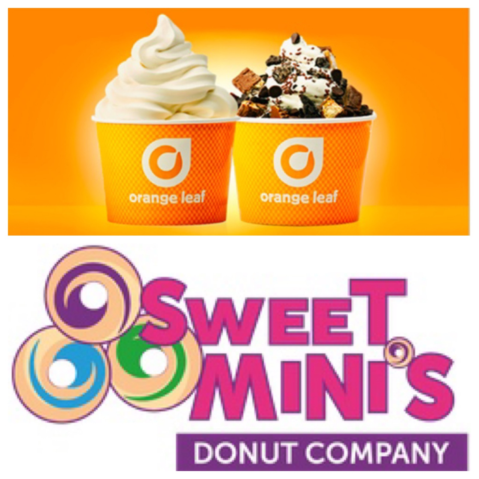 *NEW* Orange Leaf & Sweet Mini's