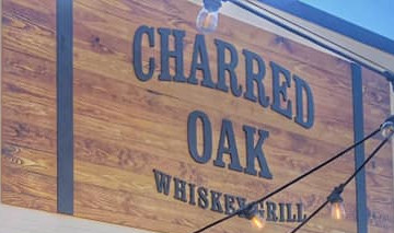 Charred Oak Whiskey Grill